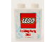 Part No: 4066pb466  Name: Duplo, Brick 1 x 2 x 2 with Holiday Party 2014 Pattern