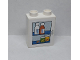 Part No: 4066pb508  Name: Duplo, Brick 1 x 2 x 2 with Pill Box and Medicine Bottles Pattern (Sticker) - Set 9226