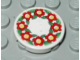 Part No: 4150pb032  Name: Tile, Round 2 x 2 with Scala Flower Pattern