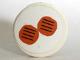 Part No: 4150pb054  Name: Tile, Round 2 x 2 with 2 Hamburgers Pattern (Sticker) - Set 5895