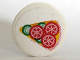 Part No: 4150pb056  Name: Tile, Round 2 x 2 with Pizza Slice Pattern (Sticker)
