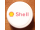 Part No: 4150pb192  Name: Tile, Round 2 x 2 with Shell Logo Pattern (Sticker) - Set 8144