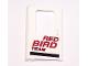 Part No: 4181pb002  Name: Door 1 x 4 x 5 Train Left with Red Bird Team Pattern (Sticker) - Set 5591