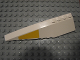 Part No: 42061pb18  Name: Wedge 12 x 3 Left with Yellow SW UCS Y-wing Wedge Pattern (Sticker) - Set 10134