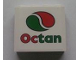 Part No: 4215bpb37  Name: Panel 1 x 4 x 3 - Hollow Studs with Octan Logo Pattern (Sticker) - Set 7993