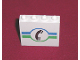 Part No: 4215bpx18  Name: Panel 1 x 4 x 3 - Hollow Studs with Telephone and Green / Blue Lines Pattern