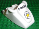 Part No: 43088pb01  Name: Duplo Snowmobile Body with 'POLICE' and Logo Pattern