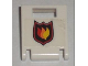Part No: 4346pb15  Name: Container, Box 2 x 2 x 2 Door with Slot and City Fire Logo Badge Pattern (Sticker) - Set 7238