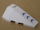 Part No: 43711pb03  Name: Wedge 4 x 2 Triple Right with Three Blue Arrows Pattern (Sticker) - Set 7700