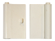 Part No: 445a  Name: Door 1 x 3 x 4 Left with Thin Handle
