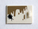 Part No: 4533pb016  Name: Container, Cupboard 2 x 3 x 2 Door with Dark Tan Drips and Black Insect Pattern (Sticker) - Set 75904