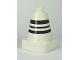 Part No: 47408pb01  Name: Duplo Cone 2 x 2 Square Base with Black Stripes Pattern