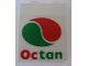 Part No: 4864apb003  Name: Panel 1 x 2 x 2 - Solid Studs with Octan Logo Pattern (Sticker) - Set 6594