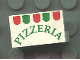 Part No: 4865pb001  Name: Panel 1 x 2 x 1 with Pizzeria Pattern