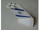 Part No: 4867pb09  Name: Tail Wedge with EL AL Logo Pattern on Both Sides (Stickers)
