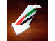 Part No: 4867pb20  Name: Tail Wedge with Emirates Logo Pattern on Both Sides (Stickers) - Set 1973