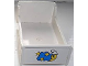 Part No: 4895pb01  Name: Duplo Furniture Bed 3 x 5 x 1 2/3 with Moon and Stars Pattern