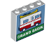 Part No: 49311pb06  Name: Brick 1 x 4 x 3 with Camper Van and 'GRAND BASIN' Pattern
