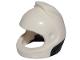 Part No: 49663pb01  Name: Minifigure, Headgear Helmet Space, City Astronaut with Black Neck Base Pattern