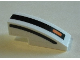 Part No: 50950pb127R  Name: Slope, Curved 3 x 1 with Black Lines and Small Orange Rectangle Pattern Model Right Side (Stickers) - Set 75895