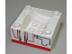 Part No: 51547pb14  Name: Duplo, Train Cab / Tender Base with Bottom Tube and Thomas & Friends Stanley Pattern