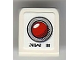 Part No: 54200pb055  Name: Slope 30 1 x 1 x 2/3 with Red Light Button and 'NW III' Pattern (Sticker) - Set 8899