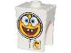 Part No: 54872pb04  Name: Minifigure, Head Modified SpongeBob SquarePants with Spacesuit Pattern