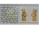 Part No: 59349pb033  Name: Panel 1 x 6 x 5 with 2 Mermen on Inside and Stone Wall on Outside Pattern (Stickers) - Set 7985