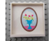 Part No: 59349pb049  Name: Panel 1 x 6 x 5 with Picture of Vase with Flowers Pattern on Inside (Sticker) - Set 7586