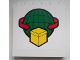 Part No: 59349pb071  Name: Panel 1 x 6 x 5 with Box and Arrows and Globe Pattern (Sticker) - Set 60020