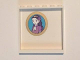 Part No: 59349pb109  Name: Panel 1 x 6 x 5 with Oval Gold Framed Portrait with Girl Pattern on Inside  (Sticker) - Set 41101
