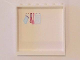 Part No: 59349pb114  Name: Panel 1 x 6 x 5 with Four Hanging Kitchen Utensils on White Background on Inside Pattern (Sticker) - Set 41119