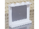 Part No: 60581pb024  Name: Panel 1 x 4 x 3 with Side Supports - Hollow Studs with Square Mirror Pattern on Inside (Sticker) - Set 3315
