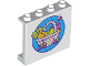 Part No: 60581pb110  Name: Panel 1 x 4 x 3 with Side Supports - Hollow Studs with Vegetable and Fruit Basket and Flying Bee Pattern