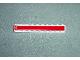 Part No: 6111pb001  Name: Brick 1 x 10 with Ferrari Logo Left and 'SCUDERIA FERRARI' Center Small Print Pattern on Both Sides (Stickers) - Set 8375
