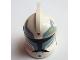 Part No: 61189pb09  Name: Minifigure, Headgear Helmet SW Clone Trooper with Holes, Clone Commander Wolffe Pattern