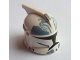 Part No: 61189pb10  Name: Minifigure, Headgear Helmet SW Clone Trooper with Holes, Wolfpack Clone Trooper Pattern