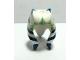 Part No: 61195pb01  Name: Minifigure, Headgear Headdress SW Togruta Montrals, Blue and Sand Green Ahsoka Pattern
