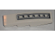 Part No: 61678pb006  Name: Slope, Curved 4 x 1 with Grille Pattern (Sticker) - Set 5971