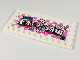 Part No: 6178pb032R  Name: Tile, Modified 6 x 12 with Studs on Edges with Pigsy and Chinese Logogram '老朱面馆' (Old Pig Noodle House) Pattern Model Right Side (Sticker) - Set 80009