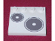 Part No: 6179pb007R  Name: Tile, Modified 4 x 4 with Studs on Edge with Stove Plate Right Pattern (Sticker) - Set 5895