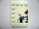Part No: 6180pb030L  Name: Tile, Modified 4 x 6 with Studs on Edges with Dragon and Knight Left Half Pattern