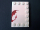 Part No: 6180pb059R  Name: Tile, Modified 4 x 6 with Studs on Edges with Dragon Right Half Pattern