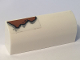 Part No: 6191pb024  Name: Slope, Curved 1 x 4 x 1 1/3 with Rust Pattern (Sticker) - Set 10274