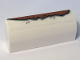 Part No: 6191pb025  Name: Slope, Curved 1 x 4 x 1 1/3 with Rust Long Pattern (Sticker) - Set 10274
