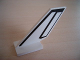 Part No: 6239pb010  Name: Tail Shuttle with Black Line Pattern on Both Sides (Stickers) - Sets 6339 / 6544