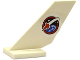 Part No: 6239pb054  Name: Tail Shuttle with Space Shuttle Logo on White Background Pattern on Both Sides (Stickers) - Set 60079