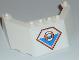 Part No: 62576pb01  Name: Windscreen 5 x 8 x 2 with Coast Guard Logo Pattern (Sticker) - Set 7739