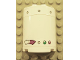 Part No: 6259pb011  Name: Cylinder Half 2 x 4 x 4 with Gauge, Rivets and 2 Lights Pattern (Stickers) - Set 4981