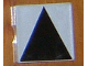 Part No: 6309p01  Name: Duplo Tile 2 x 2 with Shape Black Isosceles Triangle Pattern